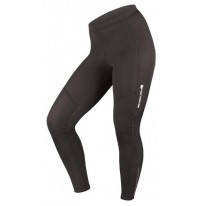 ENDURA WOMENS T/LITE TIGHT W/PAD, BLACK