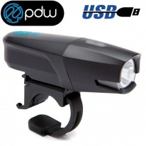 PDW CITY ROVER USB FRONT LIGHT - 200 LUMENS