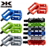 KORE - NYLON COLOURED 9/16'' PEDALS