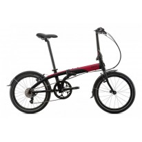 TERN LINK D8 FOLDING BIKE BLACK / RED P1
