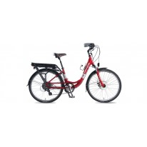 SMART MOTION ELECTRIC BIKE ECITY RED