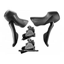 SHIMANO ST-RS405 STI SHIFTER SET W/BR-RS405