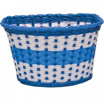 CHILDRENS MEDIUM PLASTIC BASKETS - 6 COLOURS