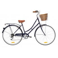 DUTCH VINTAGE LADIES 7-SPEED DELUXE NAVY