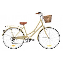 REID VINTAGE LADIES 7-SPEED DELUXE COFFEE