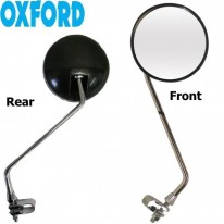 12'' CHROME PLATED MIRROR - OXFORD