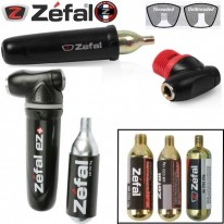 AIR GUN PUMP WITH 16G CO2 CARTRIDGE - ZEFAL