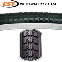CST - 27 X 1 1/4 - WHITEWALL TYRE C245