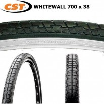 CST - 700 X 38 - WHITEWALL TYRE C783