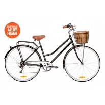 REID LADIES VINTAGE 7 SPEED LITE - BLACK