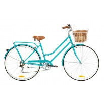 REID VINTAGE LADIES BELLA 7 SPEED AQUA
