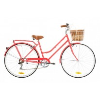 REID VINTAGE LADIES BELLA 7 SPEED WATERMELON
