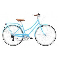 REID VINTAGE LADIES BELLA 7 SPEED BABY BLUE