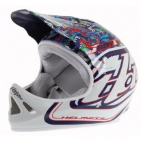 TROY LEE DESIGNS HISTORY D2 HELMET - NAVY