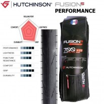 FUSION5 700 X 23 - PERFORMANCE KEVLAR ROAD TYRE -
