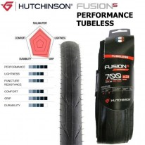 FUSION5 700 X 23 & 25 - PERFORMANCE TUBELESS ROAD