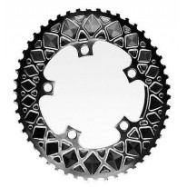 ABSOLUTEBLACK OVAL 5 BOLT PREMIUM ROAD CHAINRING