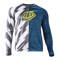 TROY LEE DESIGNS MOTO JERSEY CAUSTIC BLUE