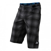 TROY LEE DESIGNS SKYLINE YOUTH SHORT PLAID GRY