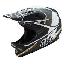 TROY LEE DESIGNS D2 AS SONAR BLACK CRAZY PRICE!