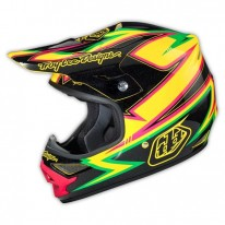 TROY LEE DESIGNS AIR AS HELMET CHARGE YELLOW