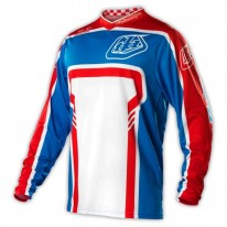 TROY LEE DESIGNS GP JERSEY FACTORY BLUE
