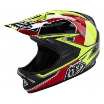 TROY LEE DESIGNS D2 AS SONAR YELLOW