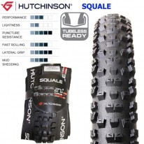 SQUALE 27.5 X 2.35 TUBELESS READY - HUTCHINSON