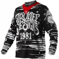 TROY LEE DESIGNS GP JERSEY OUIJA BLACK