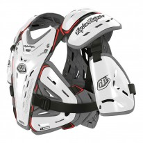 TROY LEE DESIGNS BG 5955 CHEST PROTECTOR WHITE