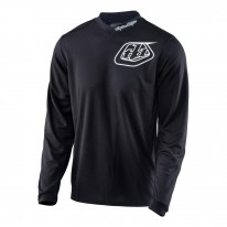2017 TROY LEE DESIGNS MIDNIGHT JERSEY BLACK