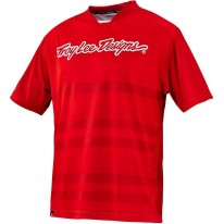 TROY LEE DESIGNS SKYLINE JERSEY DIVIDED RED