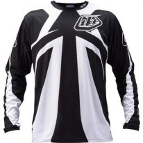 TROY LEE DESIGNS SPRINT JERSEY REFLEX BLK/WHT