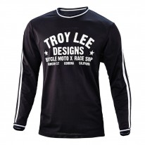 2017 TROY LEE DESIGNS SUPER RETRO JERSEY BLK