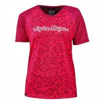 TROY LEE DESIGNS WMNS SKYLINE JERSEY EVIL PNK