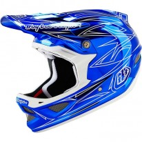 TROY LEE DESIGNS D3 AS COMPOSITE HELMET PINSTRIPE