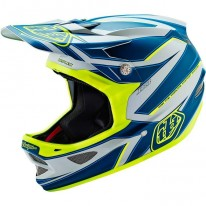 TROY LEE DESIGNS D3 AS COMPOSITE REFLEX GRY/YEL