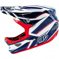 TROY LEE DESIGNS D3 AS COMPOSITE REFLEX WHITE