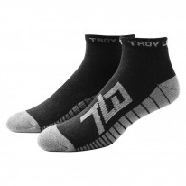 2017 TROY LEE FACT QUARTER SOCKS BLACK