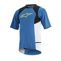 ALPINESTARS DROP 2 S/S JERSEY [BLUE YELLOW]