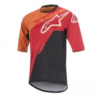 ALPINESTARS SIGHT S/S JERSEY [RED ORANGE BLACK]