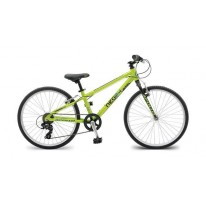 APOLLO NEO 24 BOYS GEARED LIME BLACK