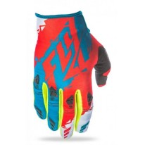 FLY KINETIC GLOVE DARK TEAL RED