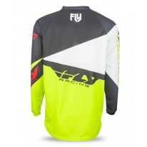 FLY JERSEYS F-16 BLACK LIME