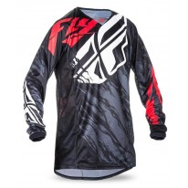 FLY JERSEYS KINETIC RELAPSE BLACK RED