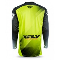 FLY JERSEYS LITE HYDROGEN LIME BLACK WHITE