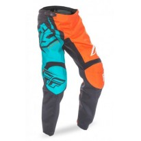 FLY PANT F-16 ORANGE TEAL