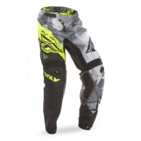 FLY PANT KINETIC CRUX BLACK HI-VIS