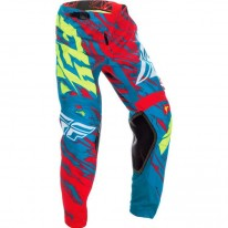 FLY PANT KINETIC TEAL RED HI-VIS