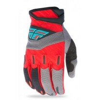 FLY F-16 GLOVE RED BLACK GRAY
